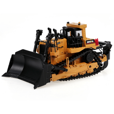Image of HUINA Toys 1700 Static Model Alloy 1:50 Die-Cast Heavy Bulldozer Toy