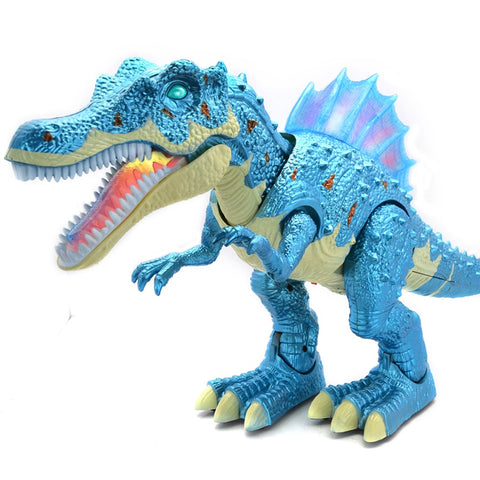 RC Dinosaur Electric walking and sound Dinobot Toy Model Action Kids Gift Toys