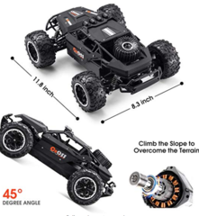 Remote Control Mamba 4 Wheel Drive Speed Jeep