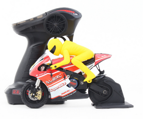 Image of ALZRC - RIDER R-100S 1/10 Scaled RC Motorcycle