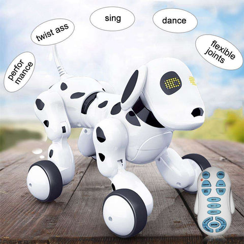 Intelligent RC Robot Dog Toy Smart Dog Kids Toys