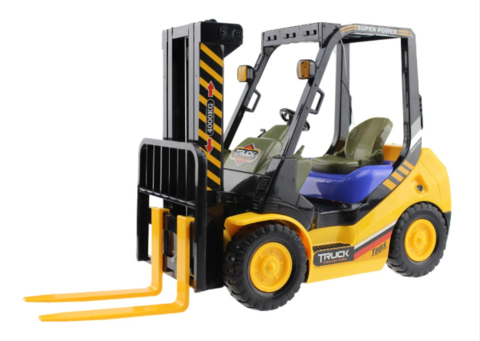 Remote Control Forklift 2.4G 4WD 6CH Shovel Truck Lift Pallets Engineering Vehicle Model Toy
