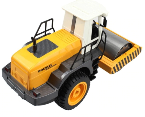 RC Single Drum Road Roller Electronic Truck Hobby Toys