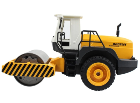 Image of RC Single Drum Road Roller Electronic Truck Hobby Toys