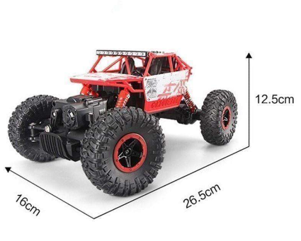 Image of 2.4GHz Rock Crawler Rally Monster RC