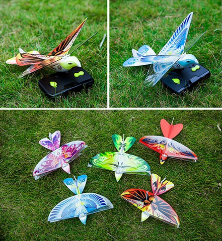 Town Flying Blue Bird Remote Control Bird