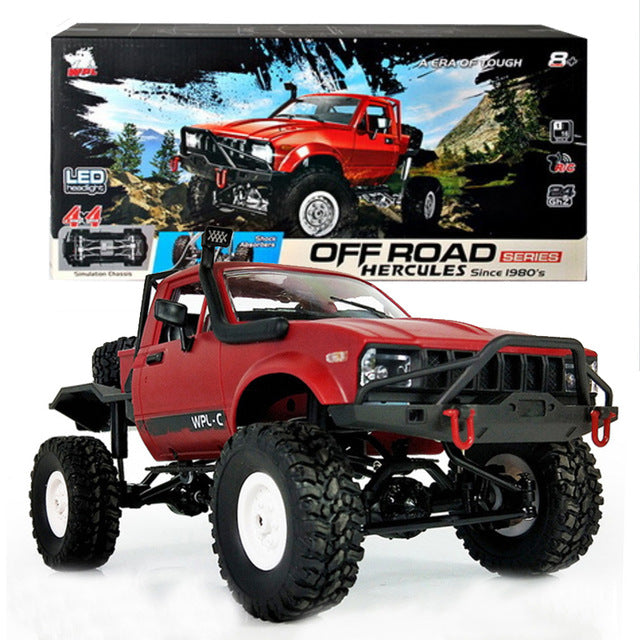 WPL C-14  RC 4WD Off Road Jeep Crawler