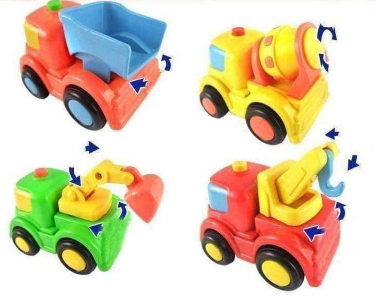 Image of Mini Construction Pullback Children's Toy