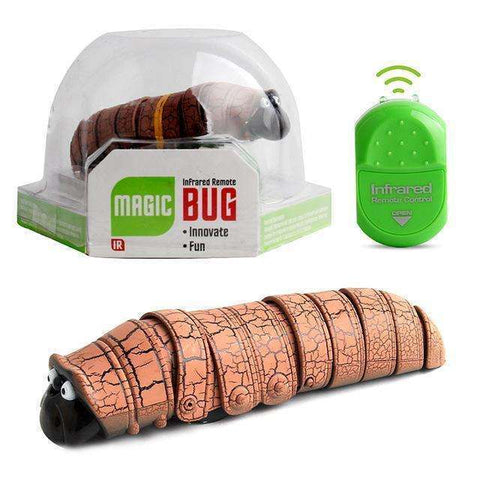 Image of Remote Control Caterpillar Insect Electric Toy