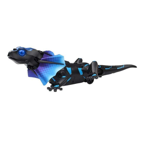 Image of Kids Toy Electric RC Remote Control Lizard Innovative Robot Infrared Simulation Lizard Lifelike Crawl Funny Tricky Toys For Boys