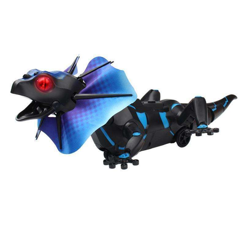 Kids Toy Electric RC Remote Control Lizard Innovative Robot Infrared Simulation Lizard Lifelike Crawl Funny Tricky Toys For Boys