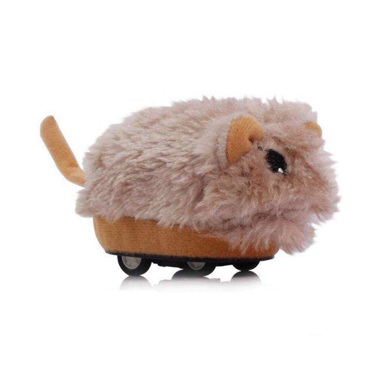 Pets Plush Doll Animal Rodent on Wheels
