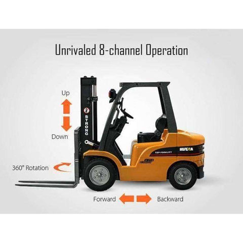 Image of Construction 1577 Hydraulic RC Forklift