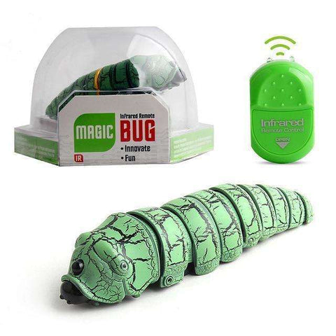 Remote Control Caterpillar Insect Electric Toy
