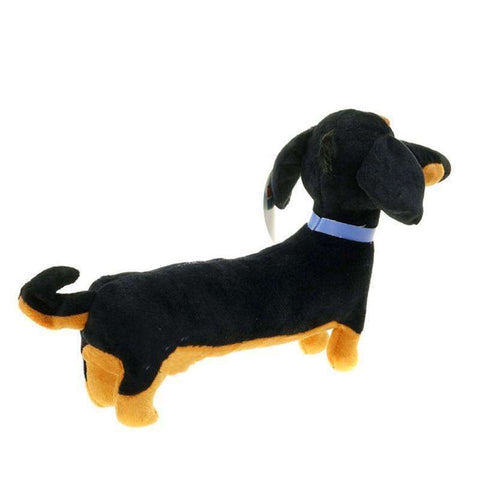 Image of Stuffed Toys Black Sausage Buddy Toy