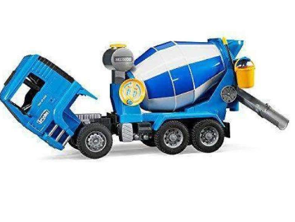 Image of Bruder MAN Model Cement Mixer