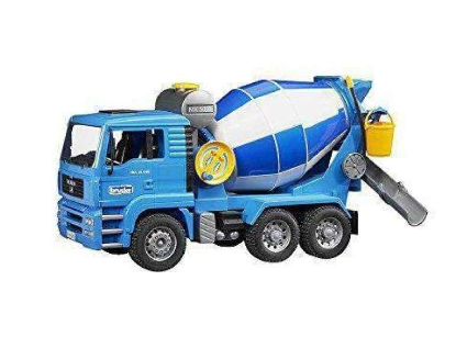 Bruder MAN Model Cement Mixer