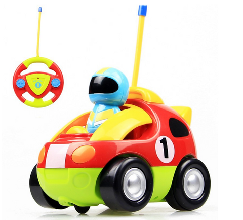 Cartoon Kid's RC Race Car