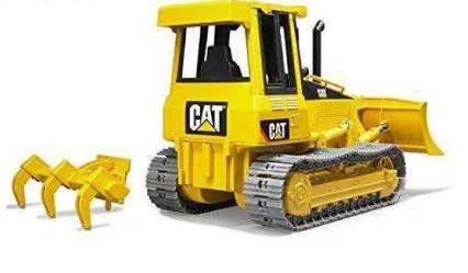 Bruder Toy Cat Model Track-type Tractor