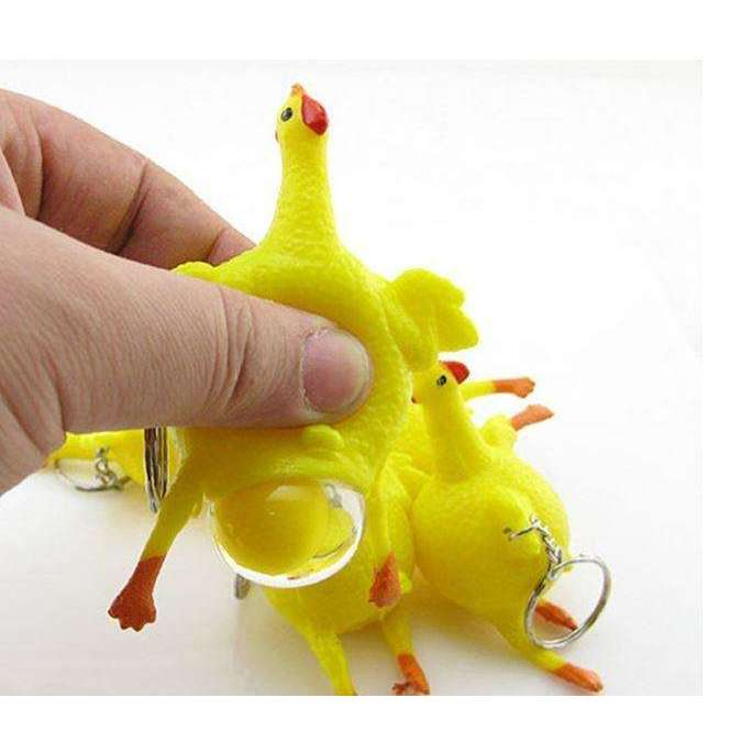 Egg Laying Hen Squishy Toy