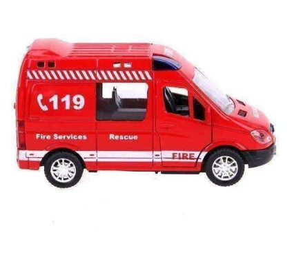 Image of Toy Emergency  Mini Vans