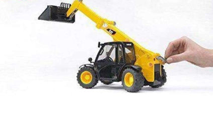 Image of Bruder CAT Telehandler/ Push Play Toy