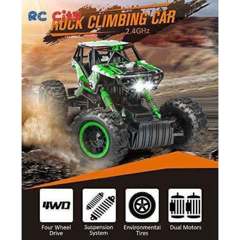 Image of Remote Control 4x4 Off Road Land Runner Monster Truck
