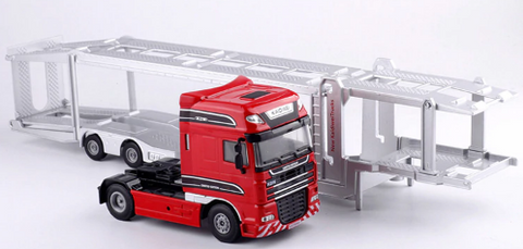 Image of Double-Decker Transporter Truck