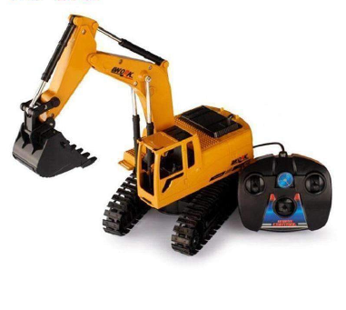 Remote Controlled Tractor Construction Toy