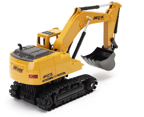 1/24 8CH Diecast Remote Excavator for Kids