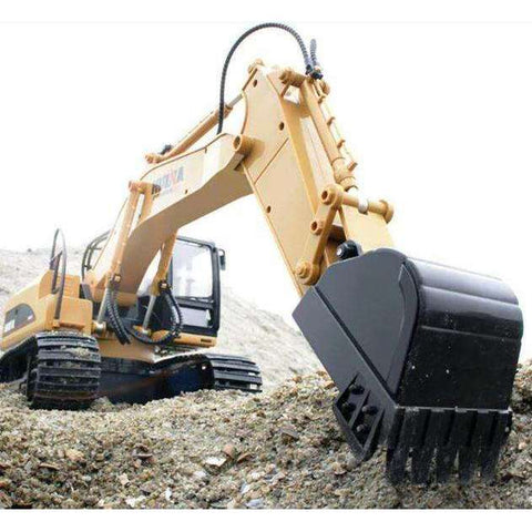 Image of Alloy 15 Channel RC Excavator