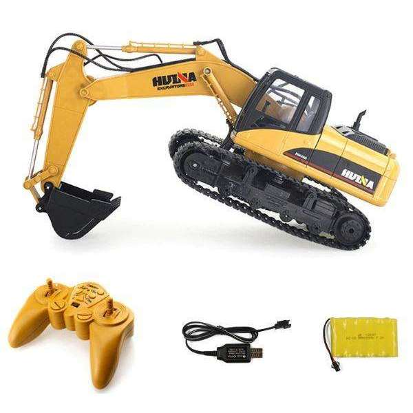 Alloy 15 Channel RC Excavator