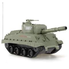 Fireball Shooting RC Battle Tank