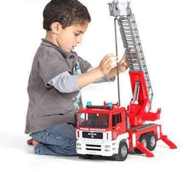 Image of Bruder MAN Model Toy Firetruck
