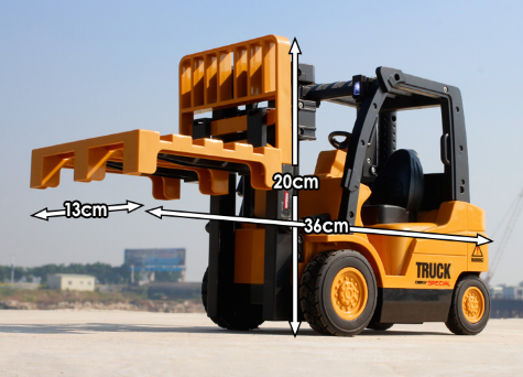 Image of Wireless Electrical Model RC Forklift