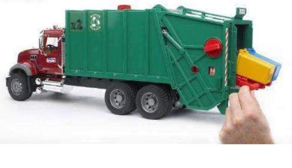 Image of Bruder Toy Granite Garbage Truck