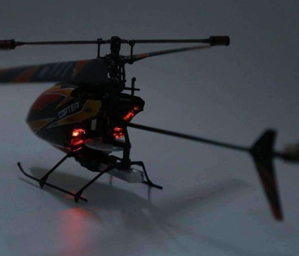 Image of Back Light Mini RC V911 Helicopter