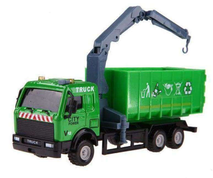 Image of 1:43 Diecast Mini Alloy Roadwork Truck