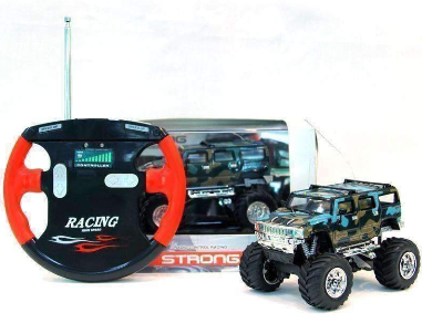 Image of Electric-Powered Off-Road Hummer RC