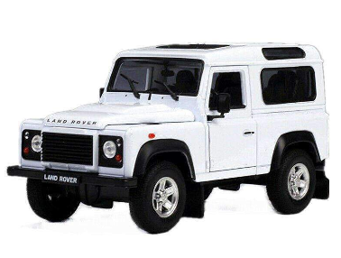 Image of Diecast Land Rover Defender SUV Model Truck