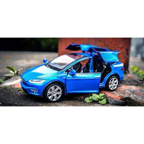 Image of Tesla Toy  Car Model X- Pull & Go