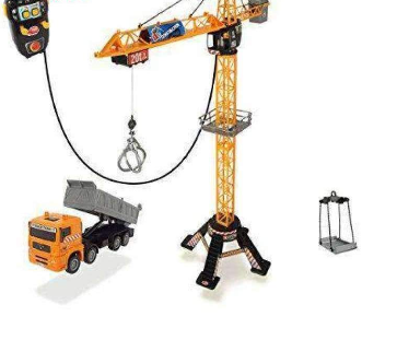 Image of Mega 2.0 Crane and Truck Playset