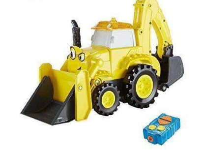 Image of Bob The Builder RC Backhoe (For Kids)