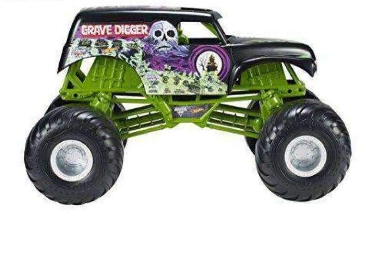 Hot Monster Jam Giant Grave Digger Truck