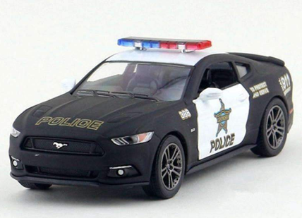 New Ford GT Pull Back Police Pullback Replica