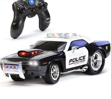 RC High Way Special Unit Police Car