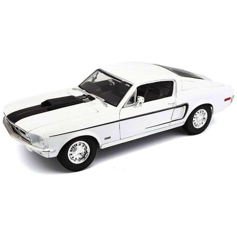 Image of 1968 Diecast Model Ford Mustang GT COBRA JET Sports Car