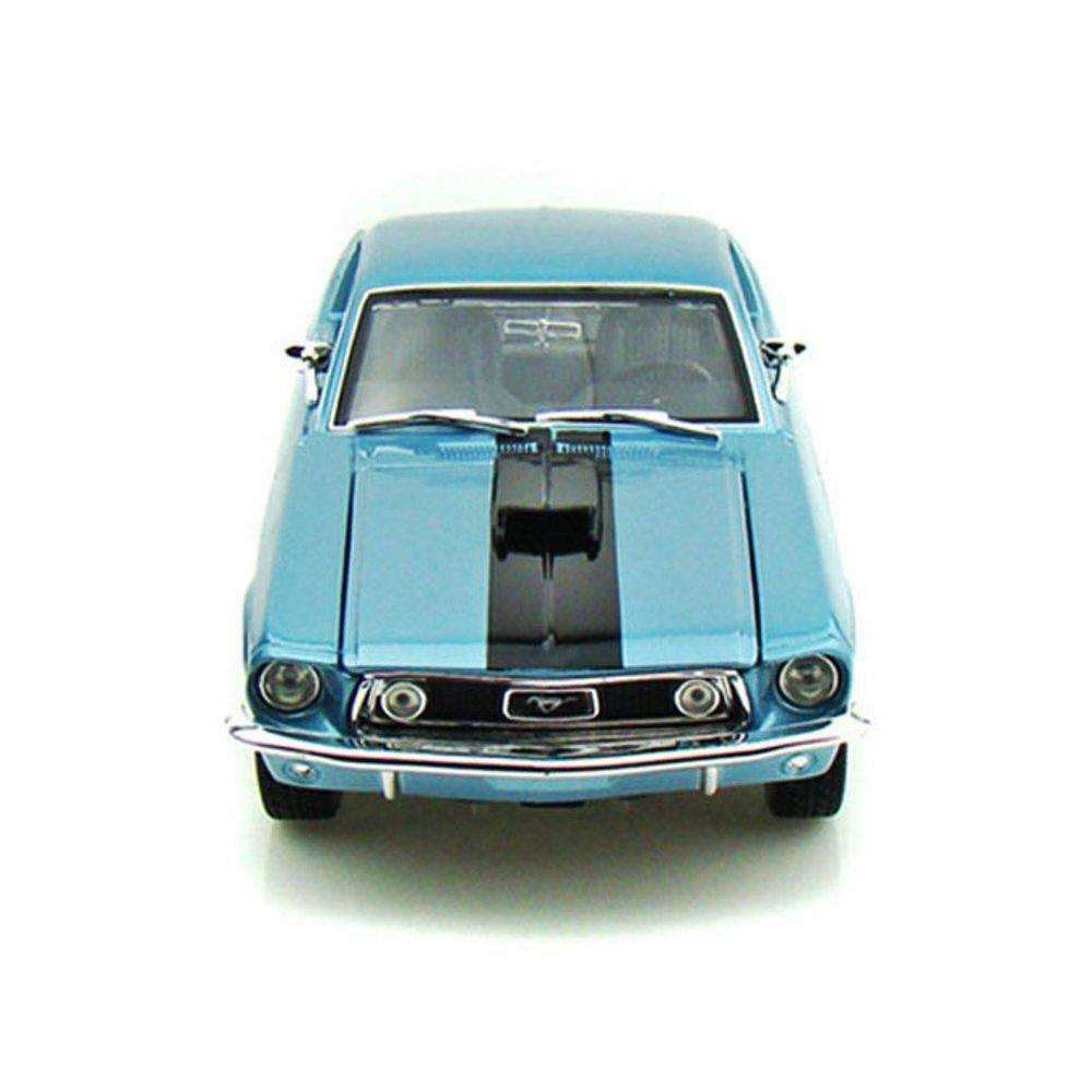 1968 Diecast Model Ford Mustang GT COBRA JET Sports Car