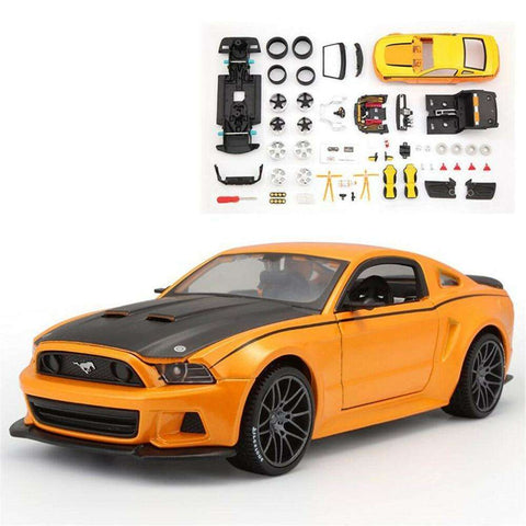 Image of 2014 DIY Diecast Model Ford Mustang MODEL KIT