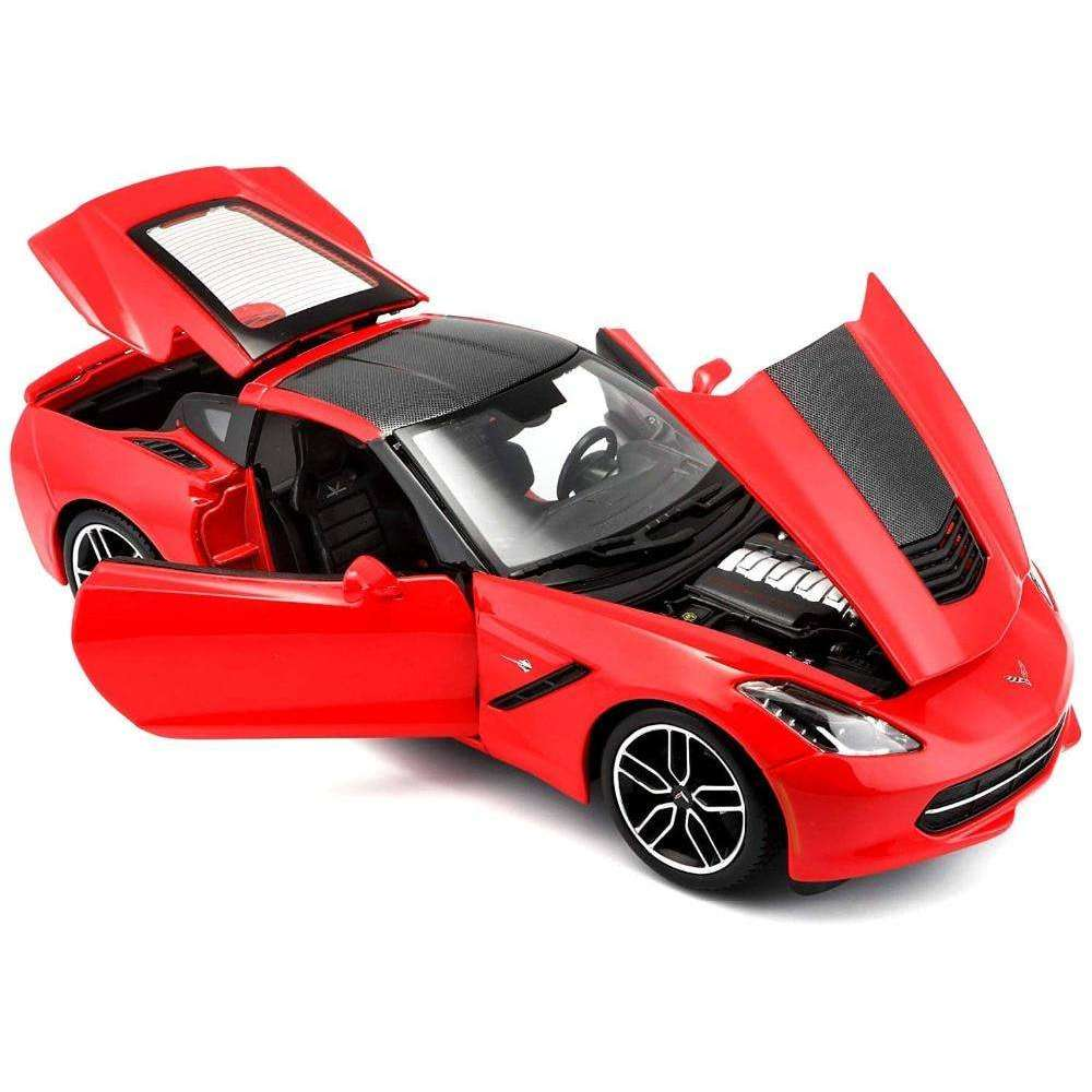 2014 Exclusive Diecast Model Corvette Stingray Z51 Sports Car